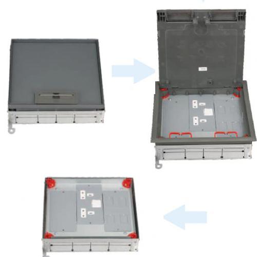 Erfb-01 waterproof floor box