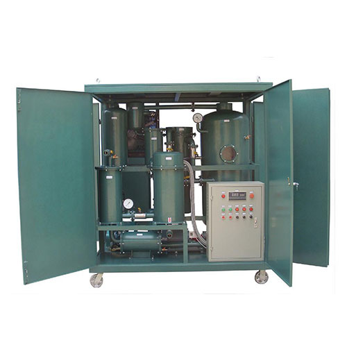 Lube oil purifier or lube oil filtration plant