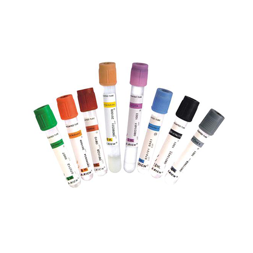 Non vacuum blood collection tubes (double cap)