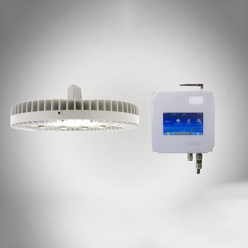 Vigilant led high bay fixture with controls - ul csa
