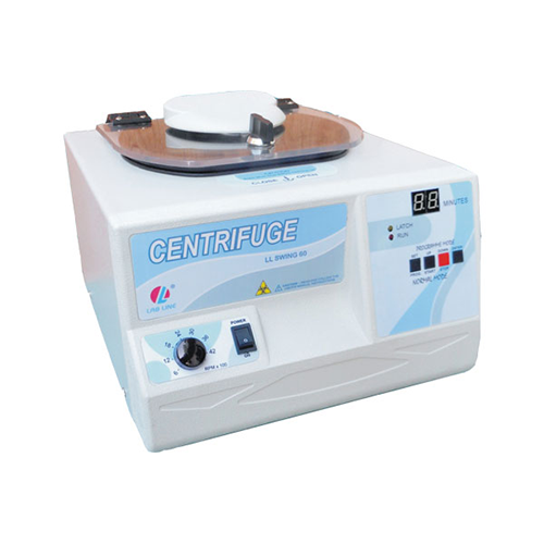 Small foot print brushless centrifuge