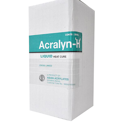 Asian acralyn heat cure liquid 256ml