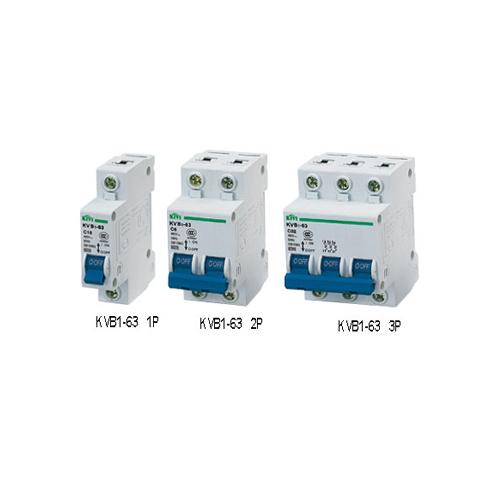 Kvb1-63(c45n) mini circuit breaker