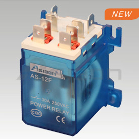 Power relay as-12f