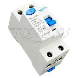 2p 4p 16a-63a 30ma-500ma residual current circuit breaker