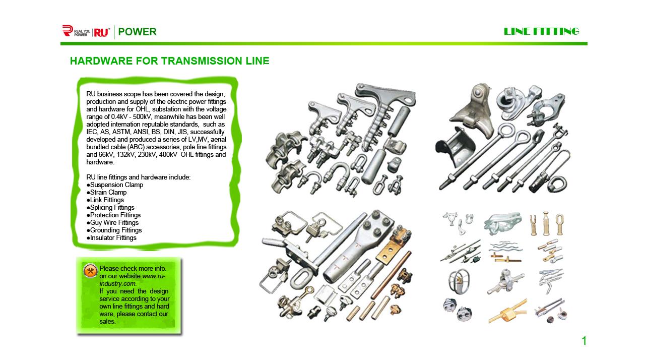 Line for transmission line