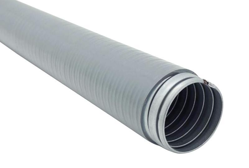 Liquid tight flexible metal conduit - pltg23pvc series non-ul