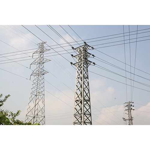 10KV Power transmission tower_2