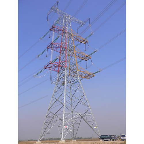 500KV Power transmission tower_2