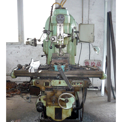 Vertical miller machine