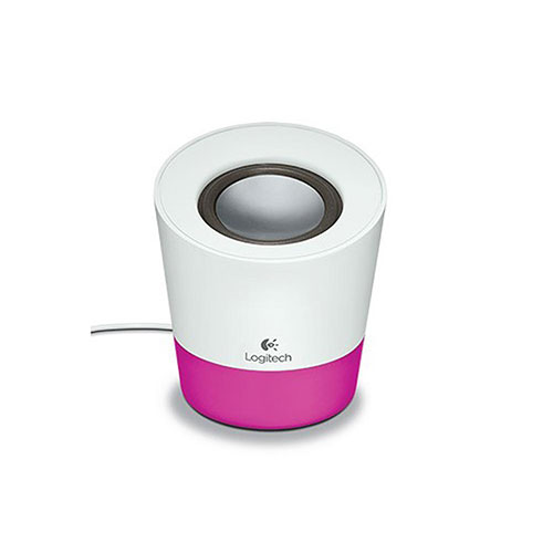 Logitech z50 multimedia speaker - magenta - 3.5 mm - uk (980-000808)