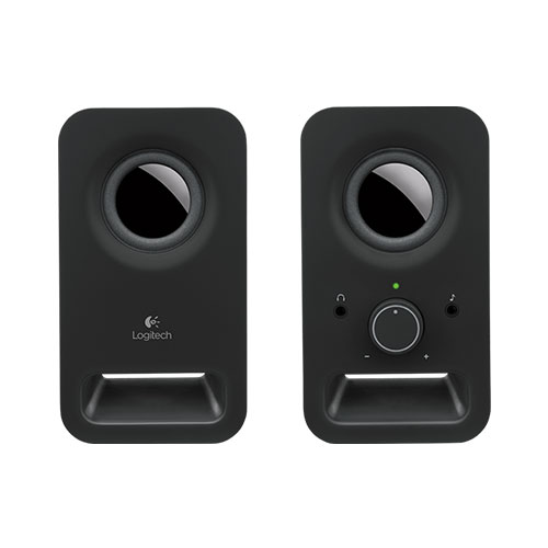 Logitech z150 multimedia speakers-2.0 -black-3.5mm -uk (980-000816)