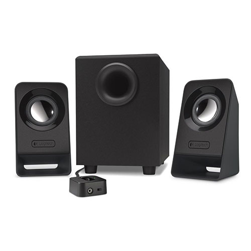 Logitech z213 2.1 multimedia speakers woofer - analog - uk (980-000943)