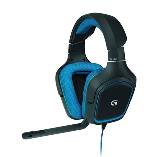 Logitech g430 usb surround sound gaming headset (981-000537)