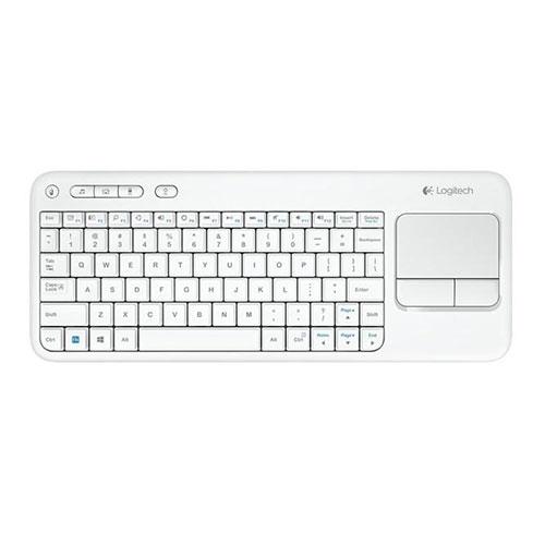Logitech wireless touch keyboard k400 plus - dark - ara (102) (920-007153)