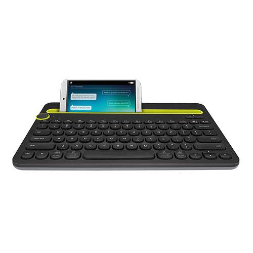 Logitech k480 bluetooth keyboard for andriod/mac/pc-black (920-006366)