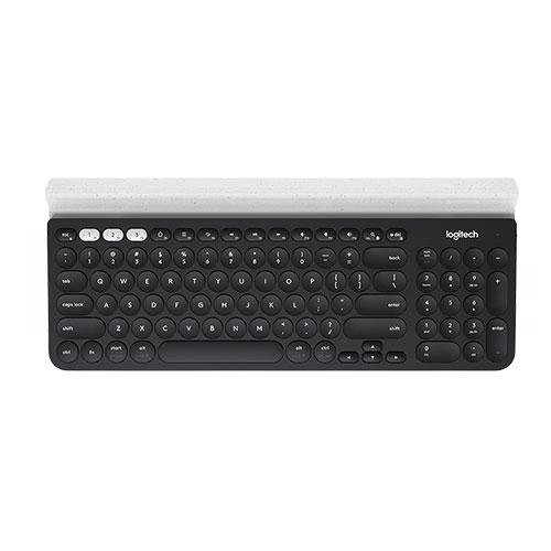 Logitech K780 Bluetooth Multi-Device Keyboard-DARK GREY/SPECKLED WHITE/ENG (920-008042)_2