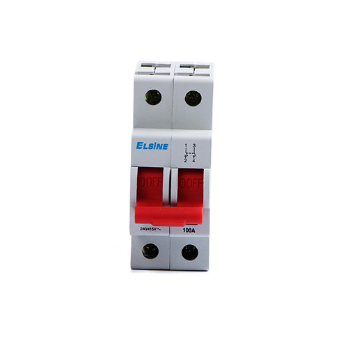 Jvd16-125 series isolating switch