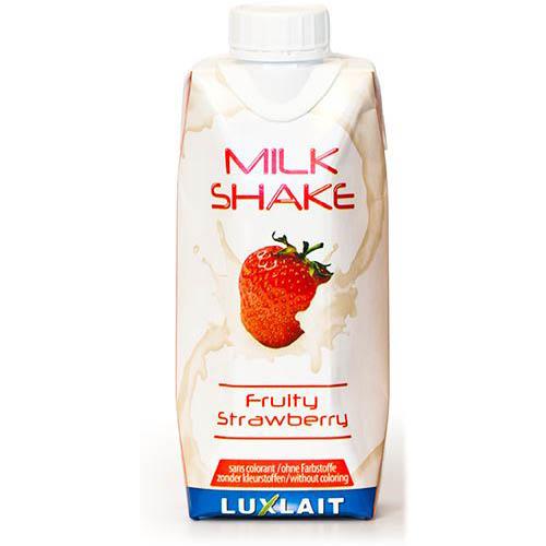 Milk shake fruity strawberry 0.33l
