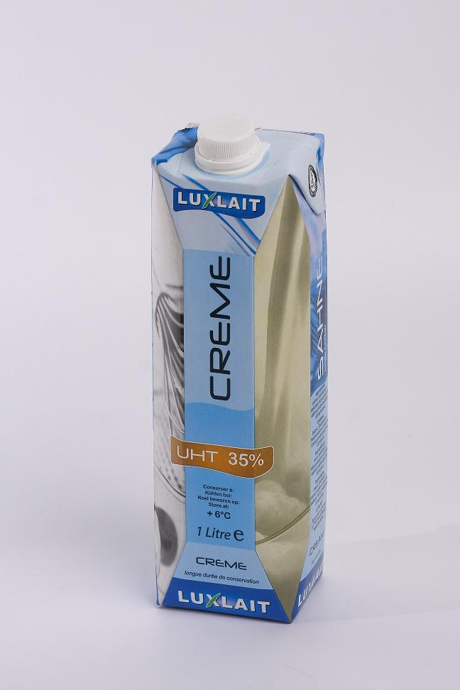 Uht whipping cream 35% fat 1l