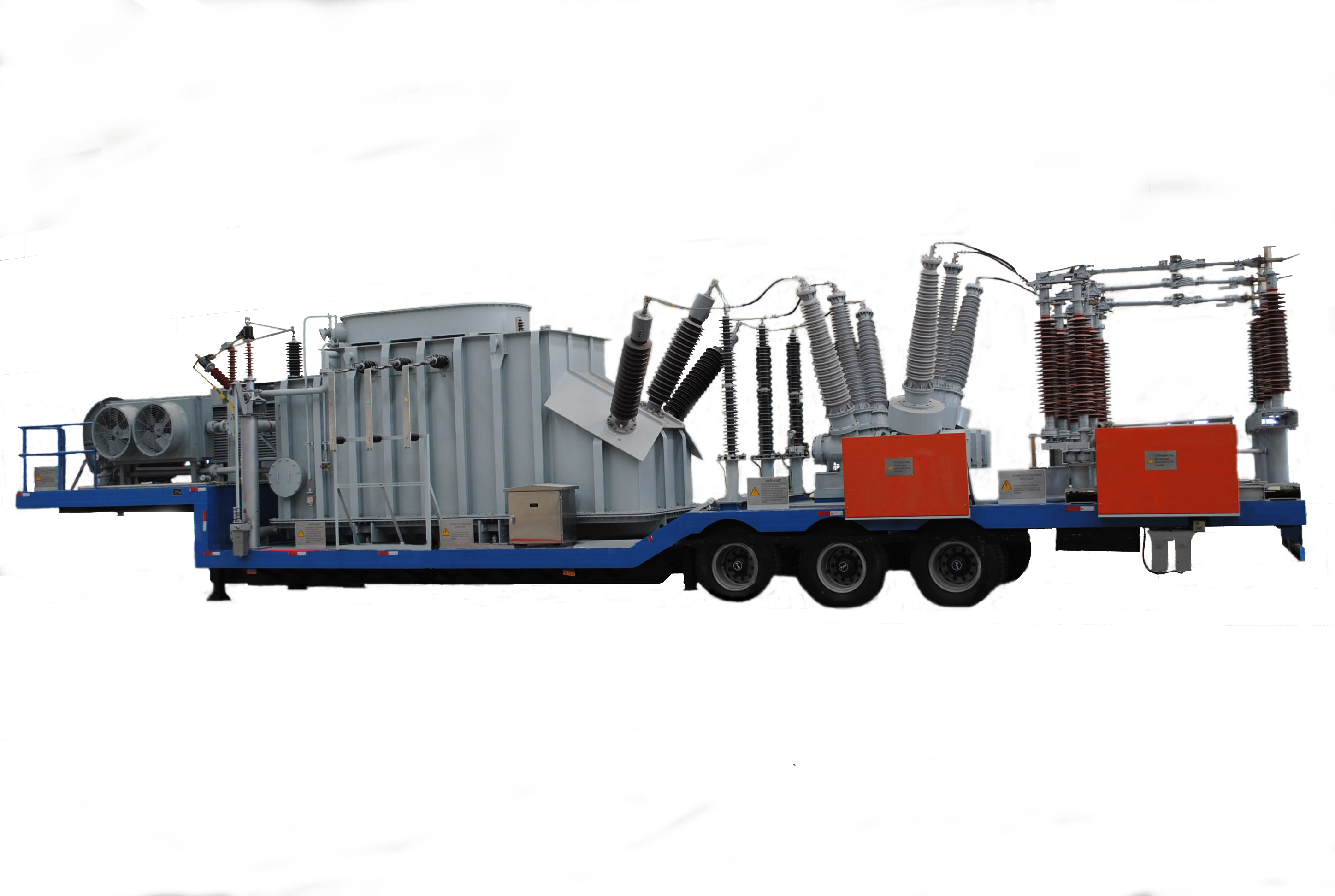 Mobile substation