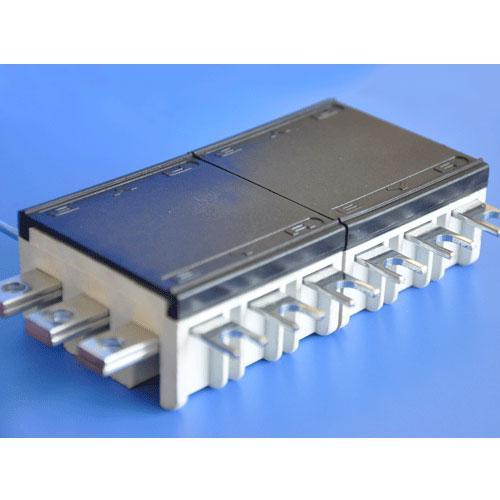 Etb04 series din rail type busbar pan assembly