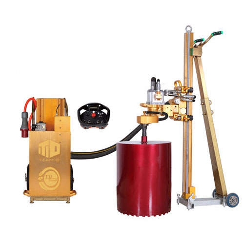 Td hydraulic core drilling machine