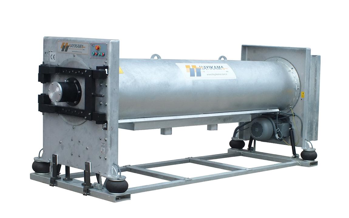 Hss 320-47 model(3 meter)-  carpet wringing machine