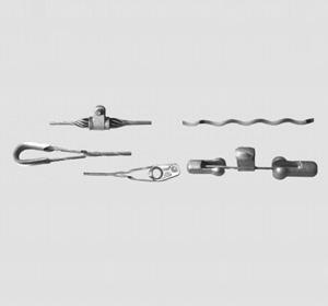 Carbon fiber composite core wire connection
