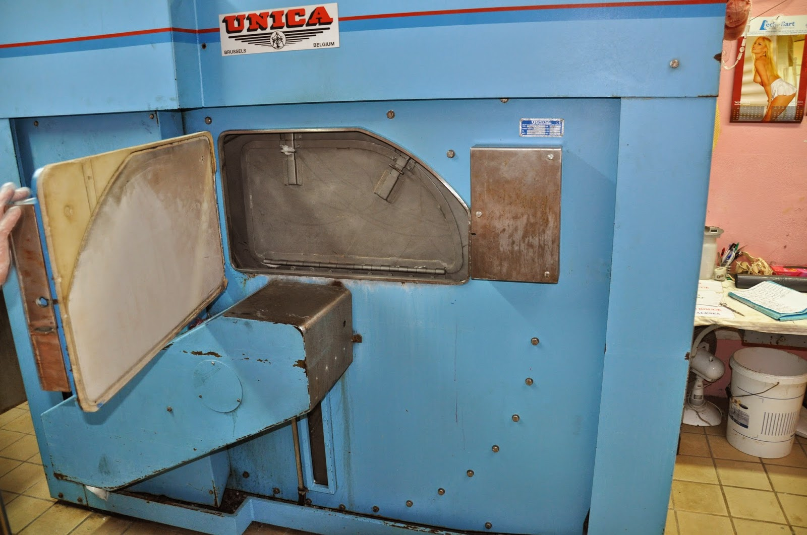Unica washer 150kg 3 pockets barrier year 2007