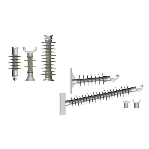 Composite line post insulator