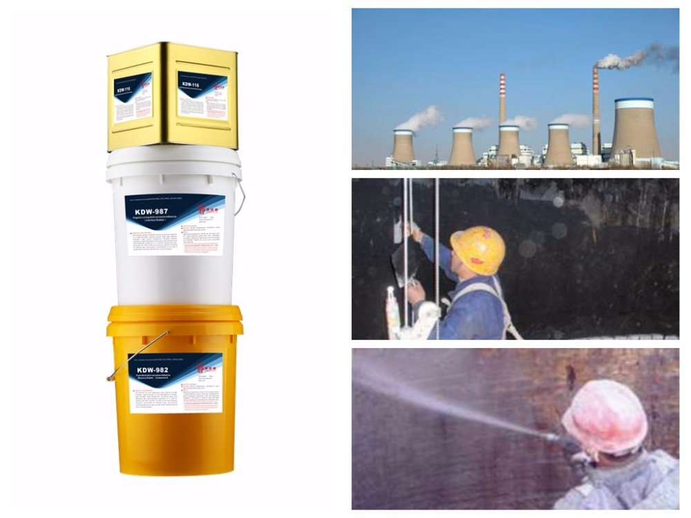 Chimney anti-corrosion spray adhesive