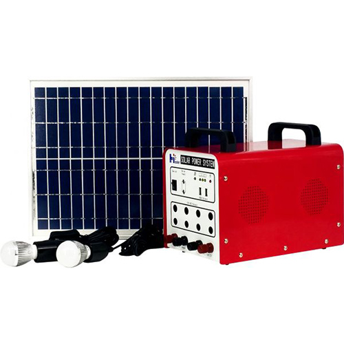 Off-grid portable solar system hls 5038