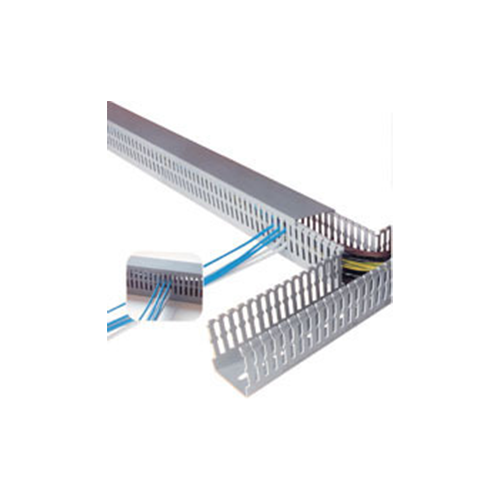 Wiring ducts narrow slot