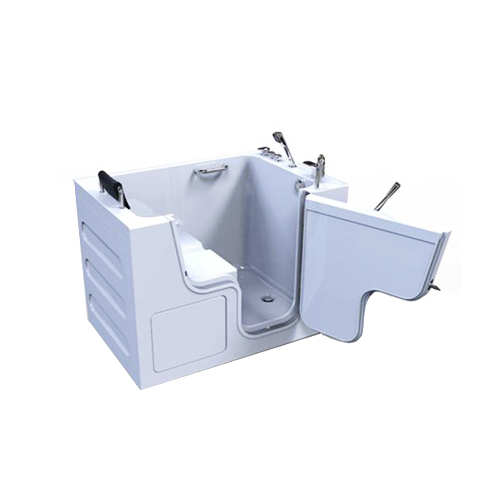 Grande outward swing walk in tub