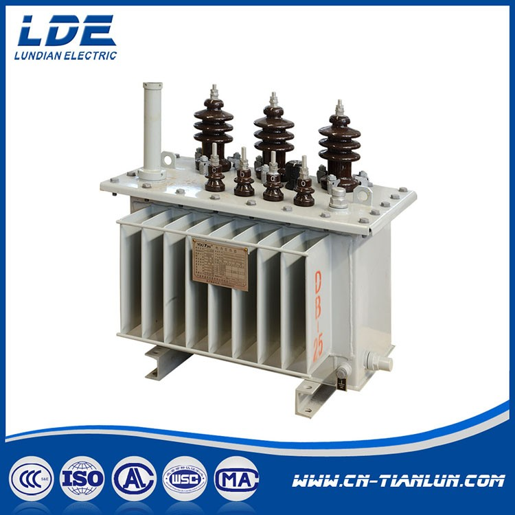 S13 Series Three Phase Oil Immersed Transformer With Conservator_2