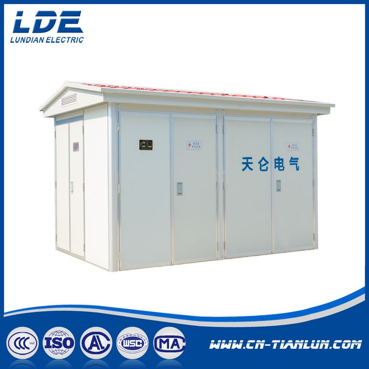 YB-12(12/0.4KV )Series Prefabricated Compact Electrical Substation_2