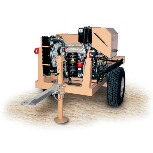 Hydraulic winch amc402