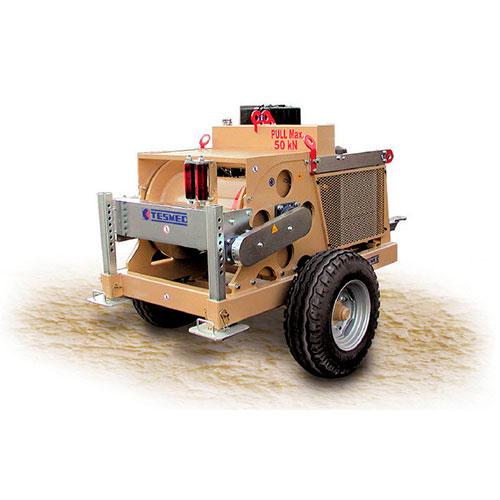 Hydraulic winch amc501