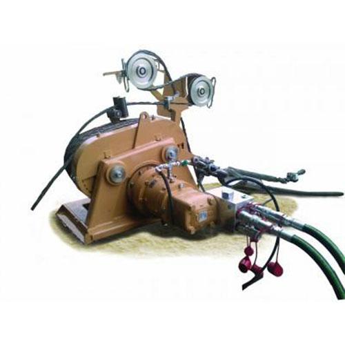 Hydraulic mini winch