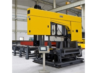 Cnc band sawing machine for beams model dj1250c