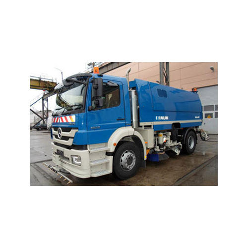 Truck mounted suction sweeper   germany