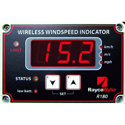 The Wireless Wind Speed Indicator R180_2