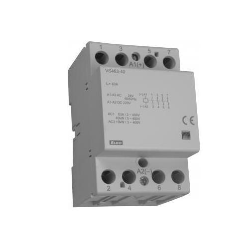 Installation contactors vs463