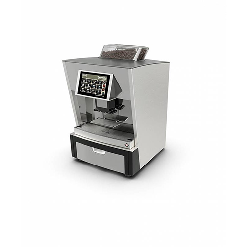 Thermoplan black and white one- automatic coffee machine