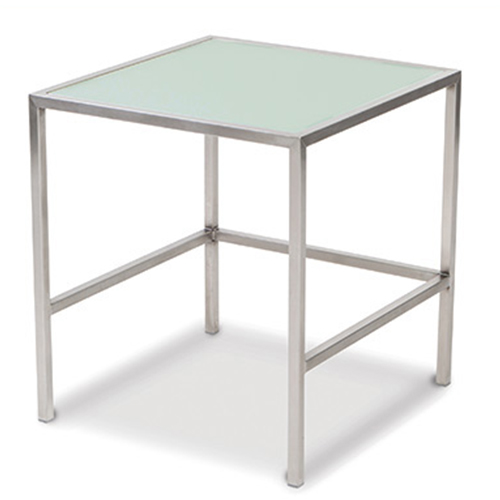 Steel and style- buffet tables