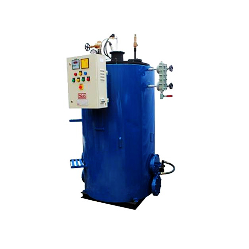 Omega - oil/gas fired, tubeless 4 pass steam boilers
