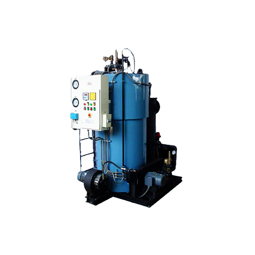Rsb - oil/gas fired, 3 pass, water tube coil type steam boilers