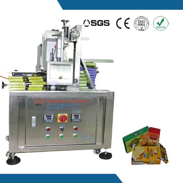 Semi-auto box sealing machine