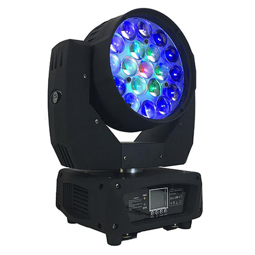 19*15w rgbw led wash moving head light with zoom